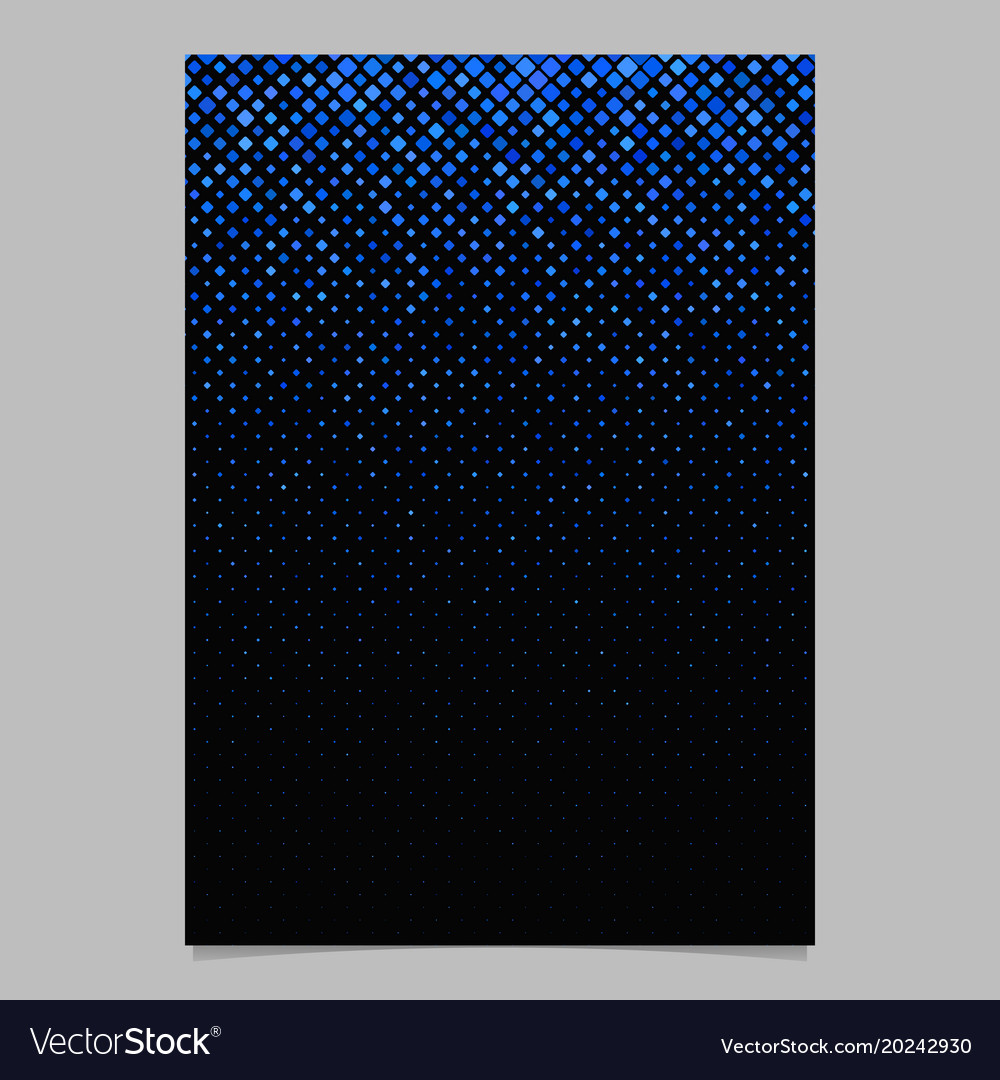 Diagonal square pattern poster template - tiled