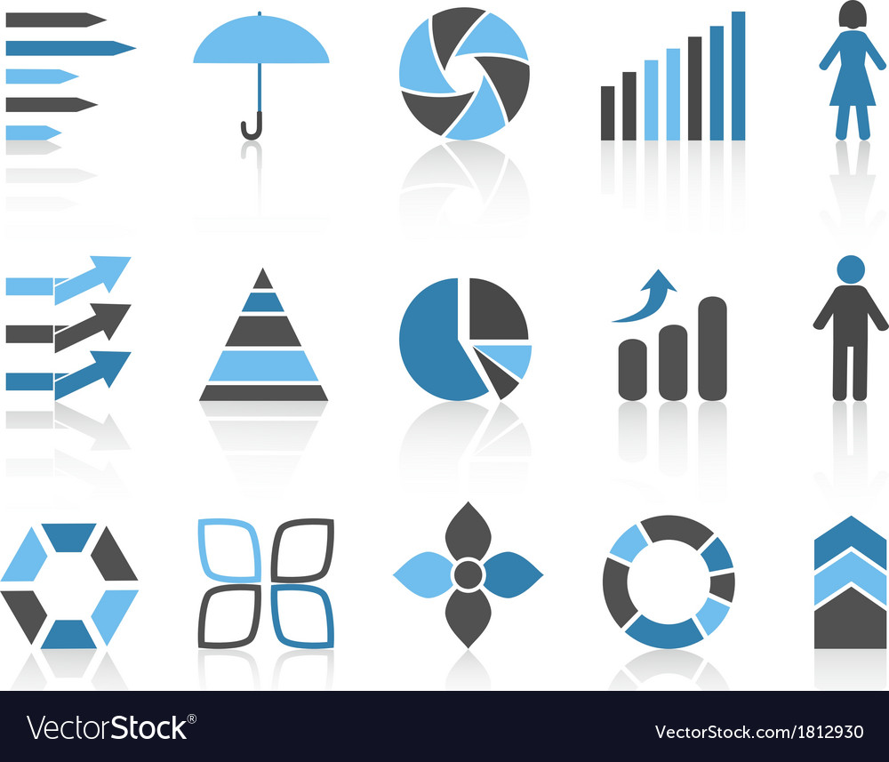 Infographic element icons set