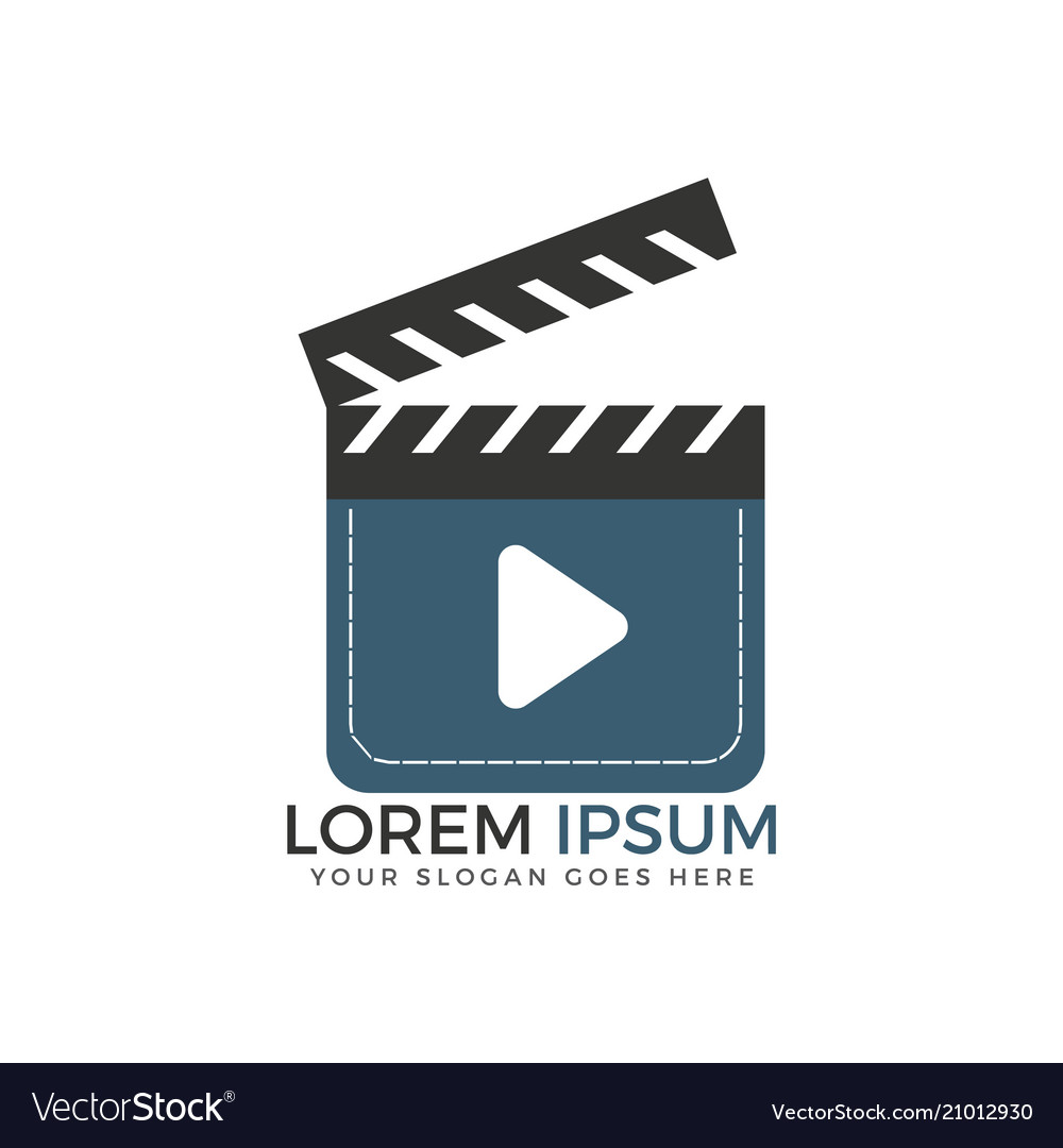 Media and movie player logo