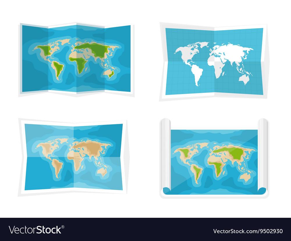 World map Navigation Africa