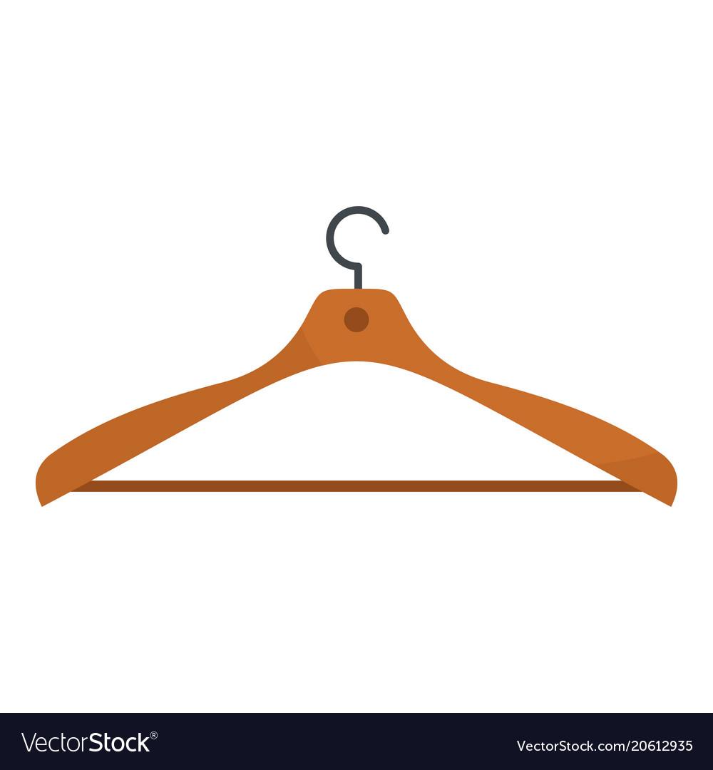 Wear hanger icon flat style