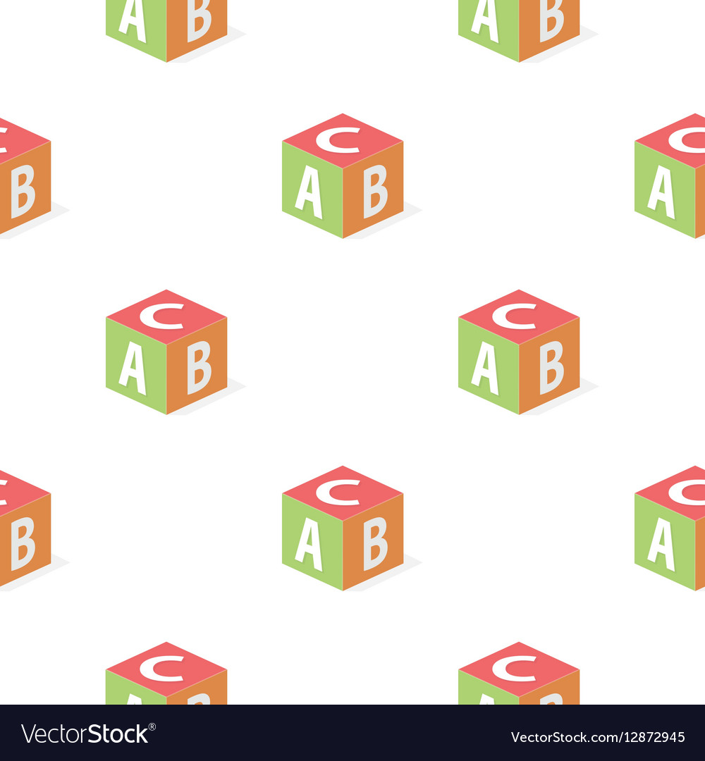 Baby s cube cartoon icon for web and