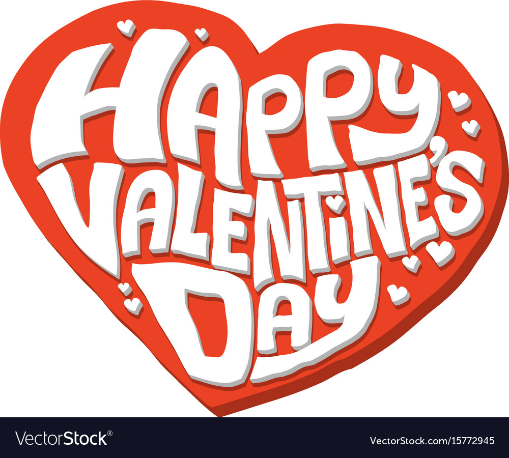 Happy valentines day heart