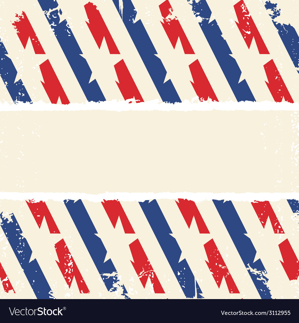 Abstract american background striped ripped paper