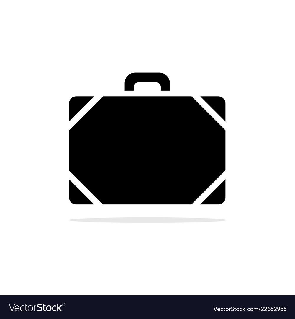 Baggage icon concept for design
