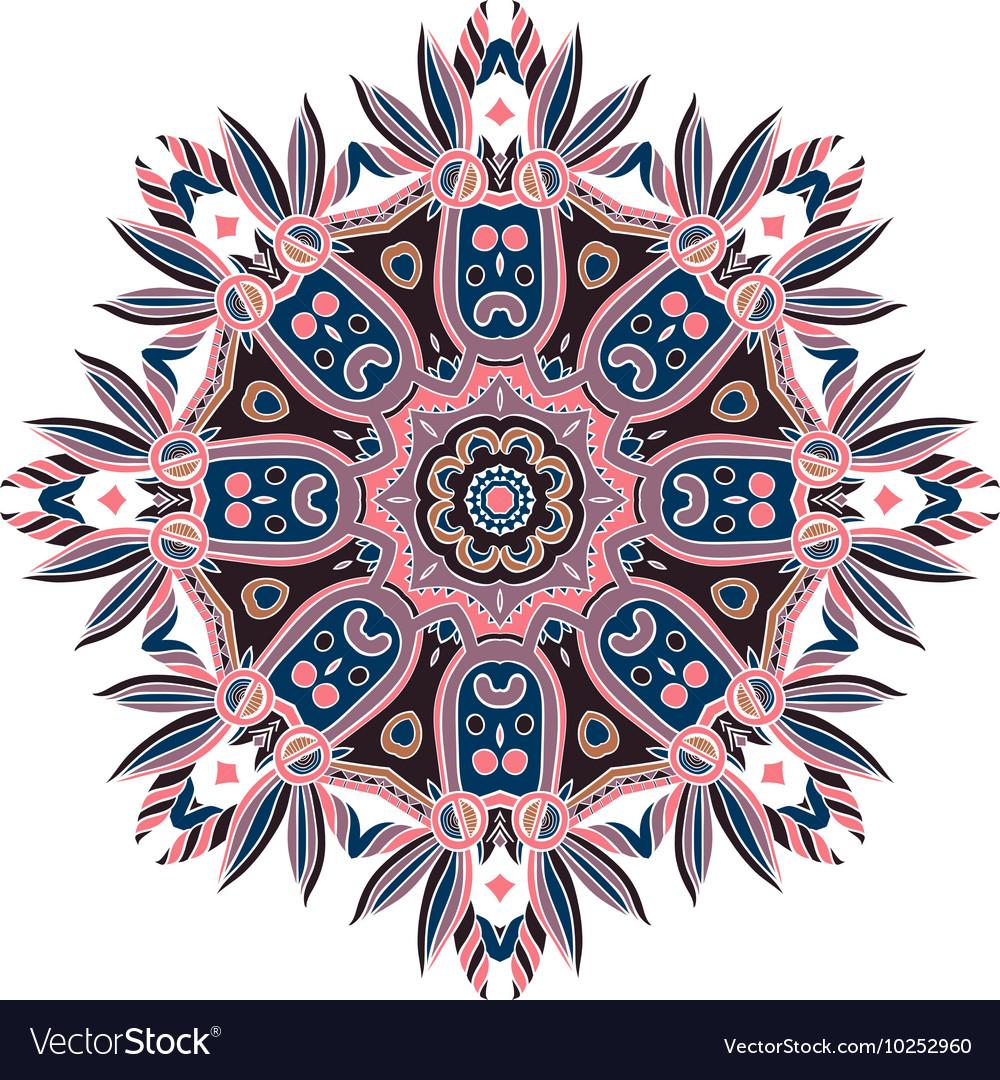 Abstract Hand-drawn Mandala 8