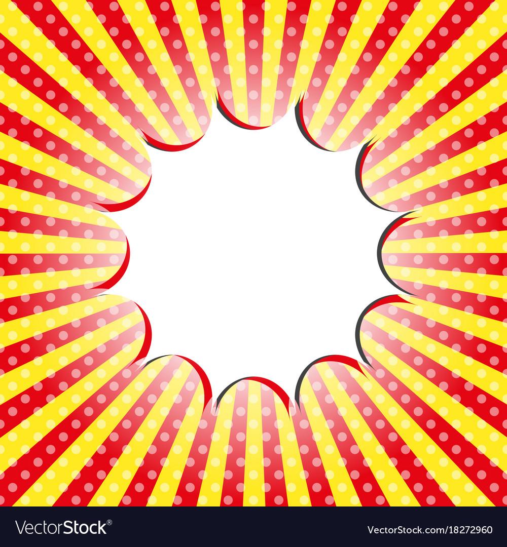 pop art template royalty free vector image vectorstock