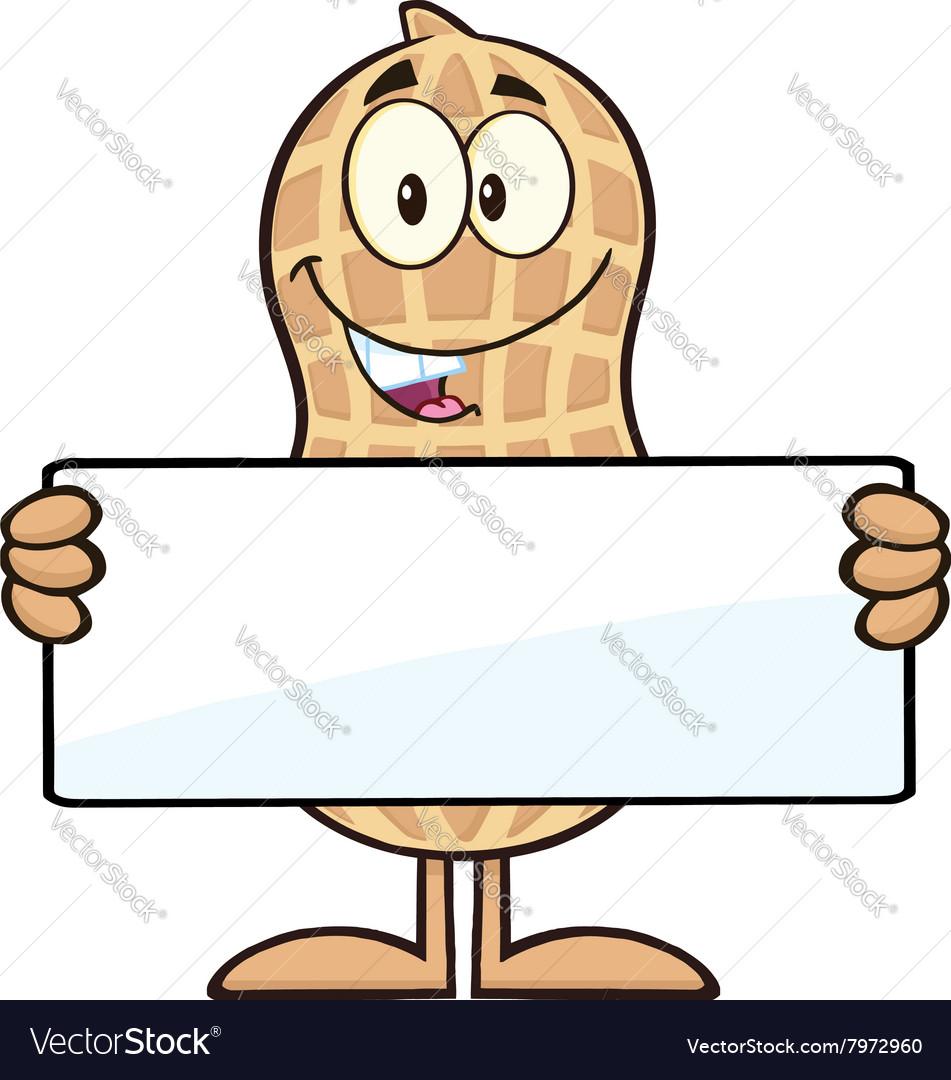 Royalty Free RF Clipart Peanut Cartoon Character