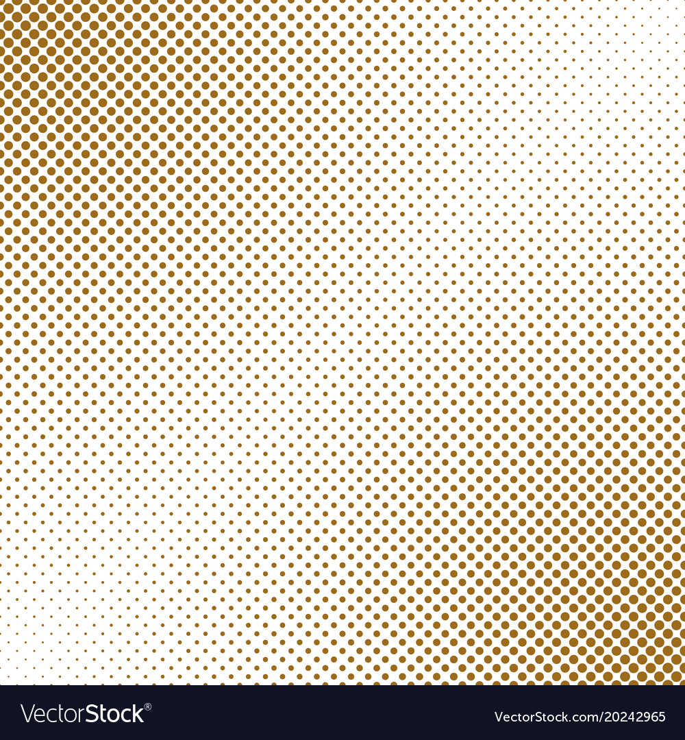 Abstract geometrical halftone dot pattern