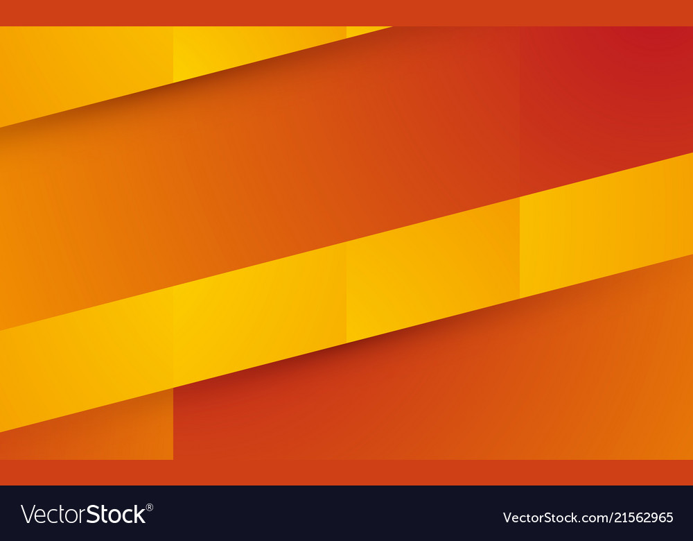 Abstract Orange Yellow Shape Background