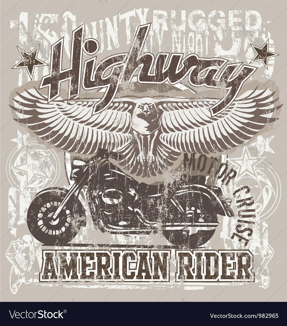 American highways rider