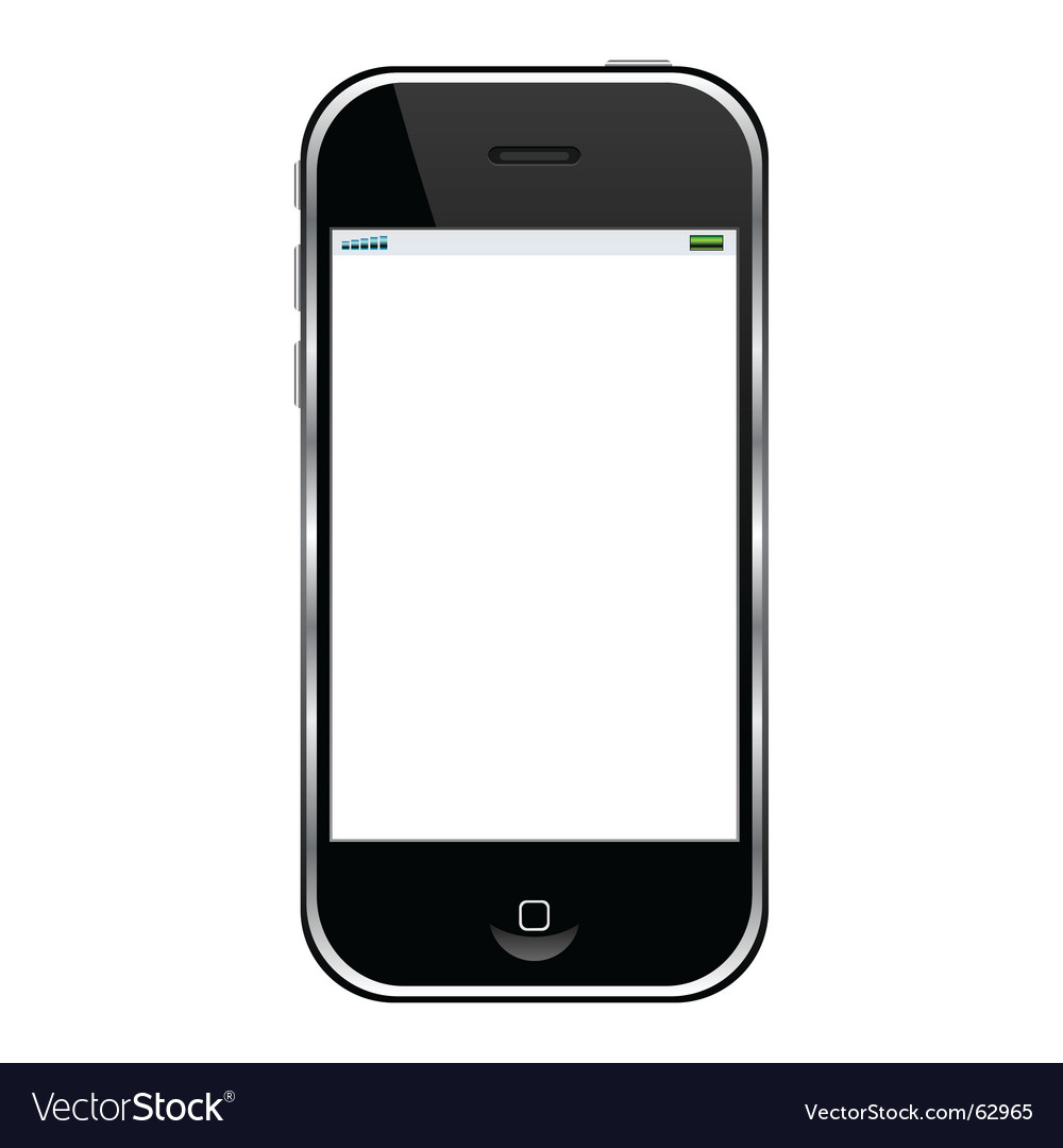 cell phone royalty free vector image vectorstock rh vectorstock com vector phone wallpapers vector phone clip art