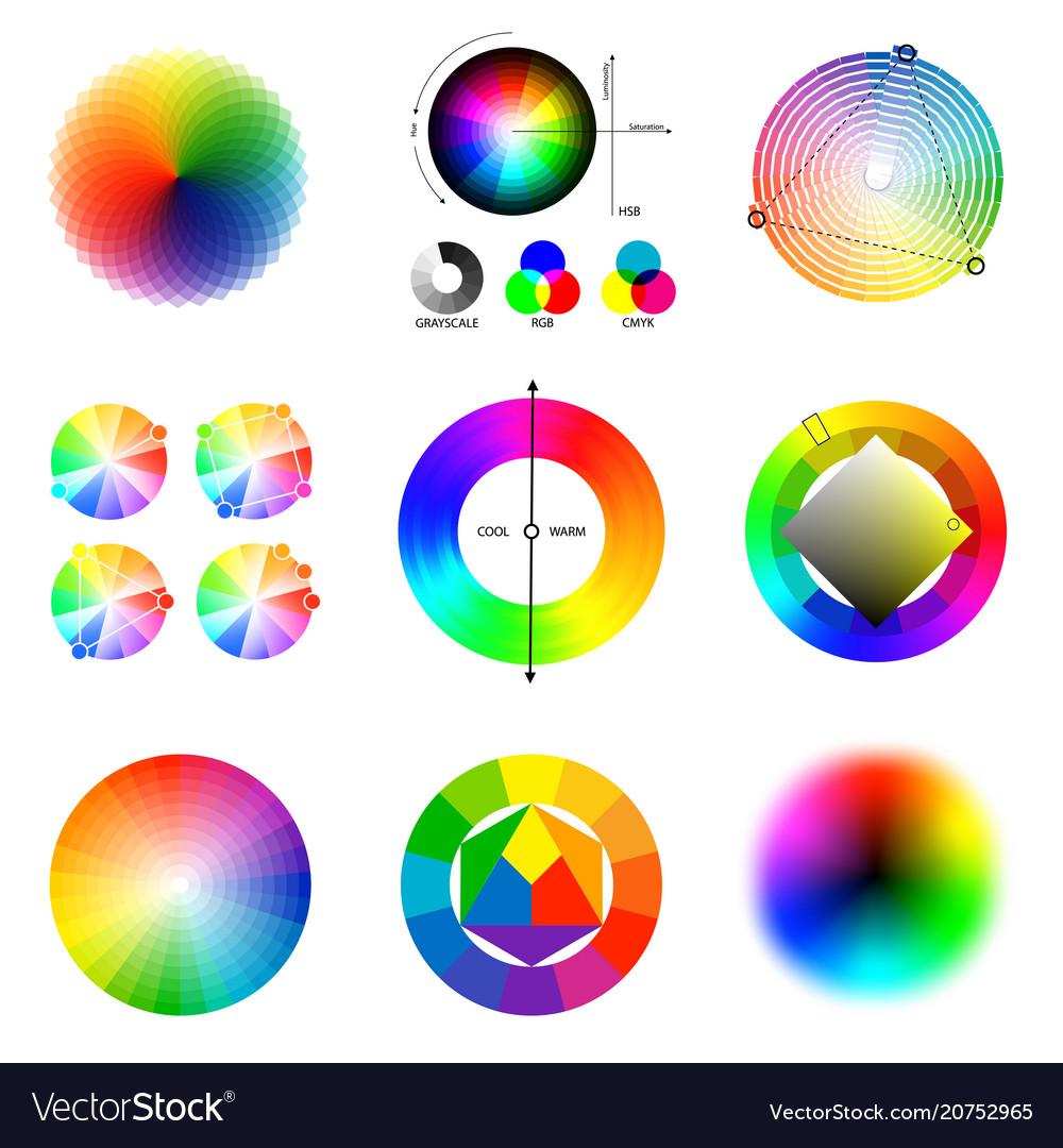 Color scheme palette set