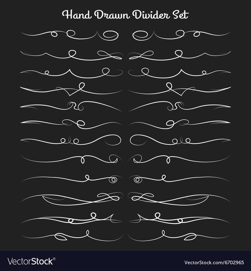 Hand Drawn Divider Set