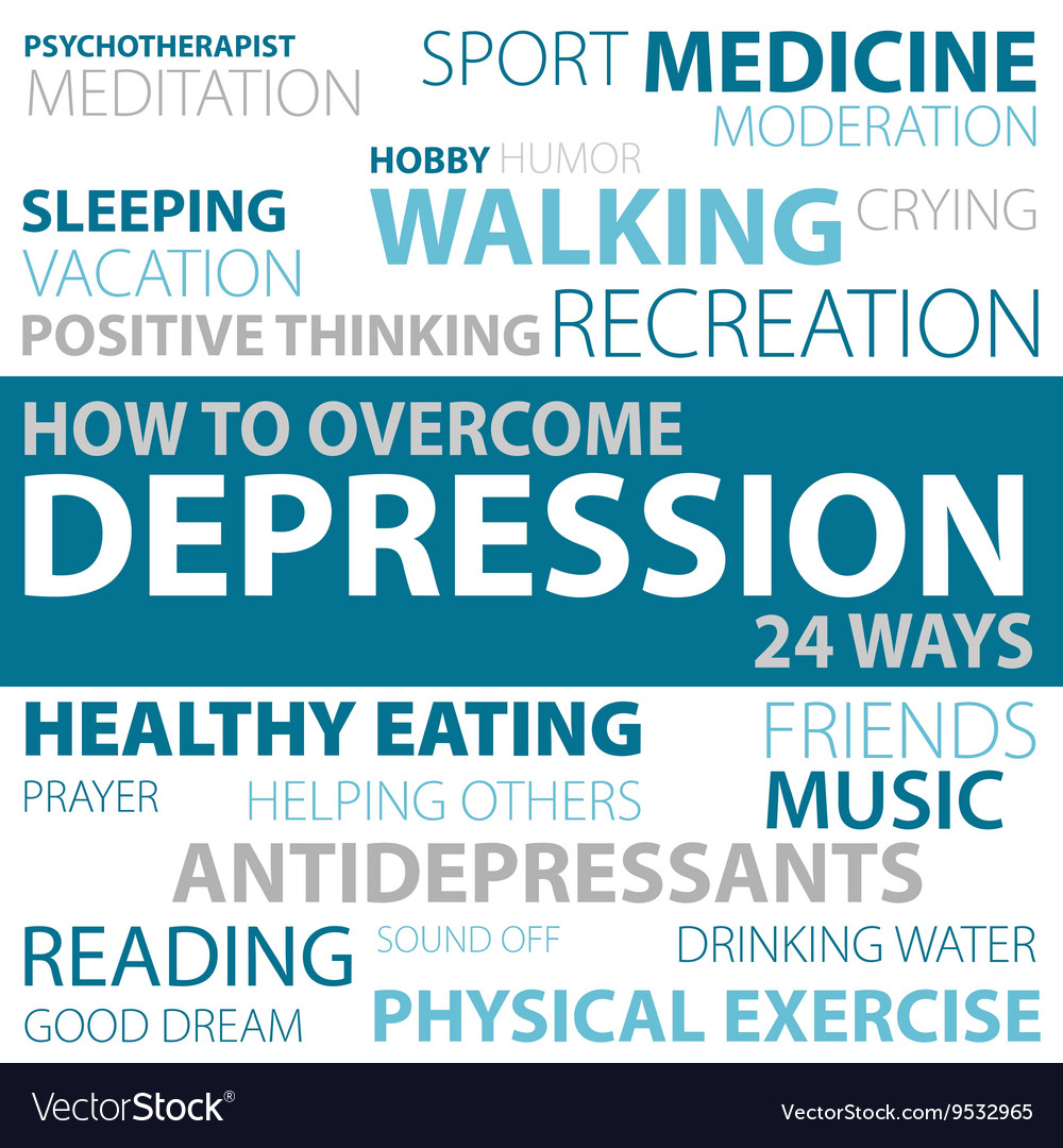 Ways how to overcome depression