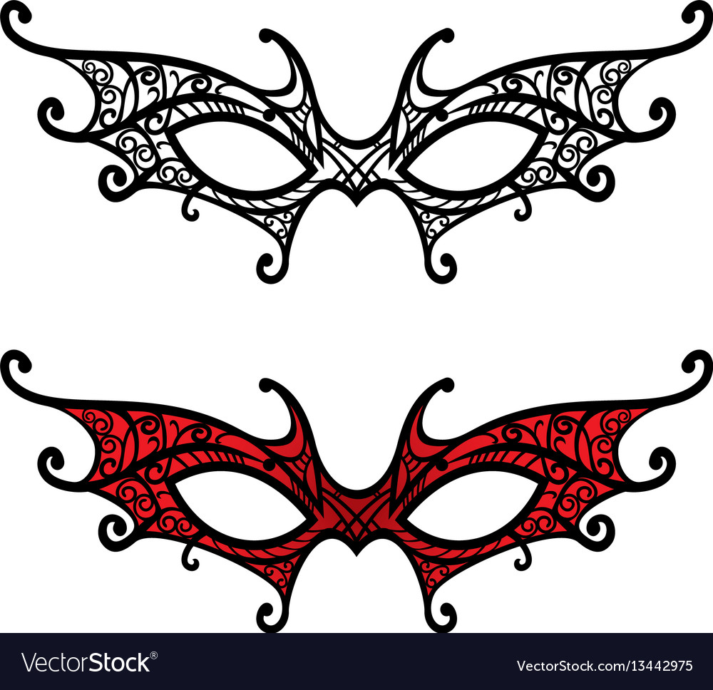 Mask stock vector image