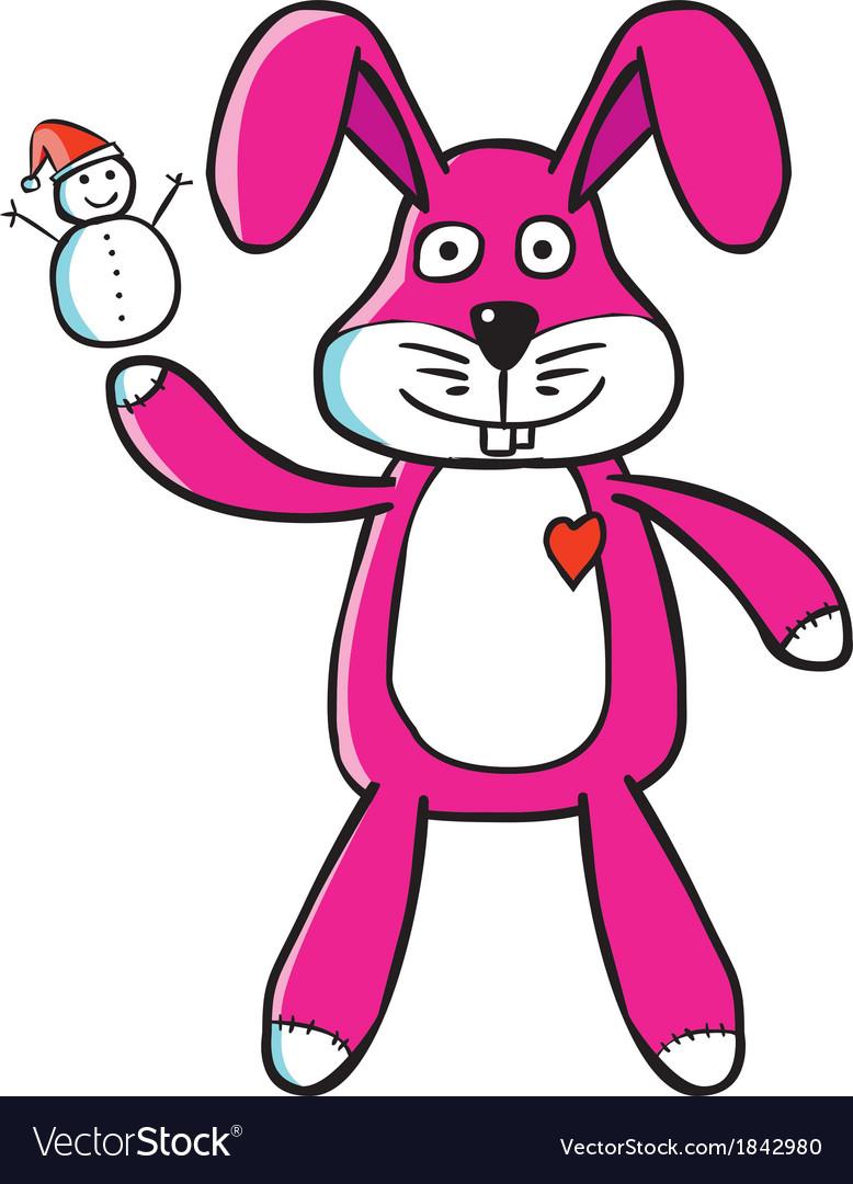Bunny puppet