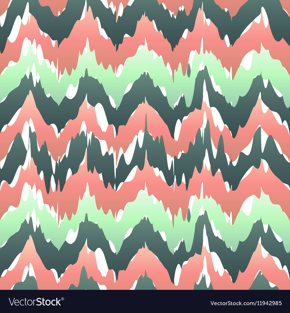 Colorful zigzag geometric seamless pattern in pink