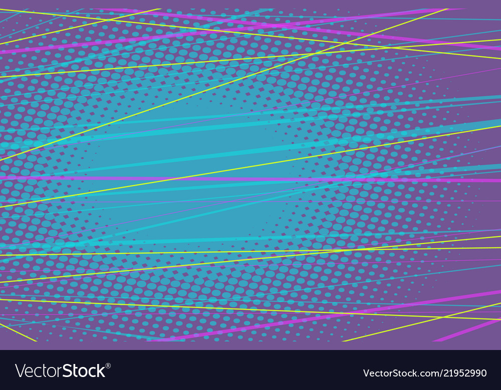 Colored lines abstract background