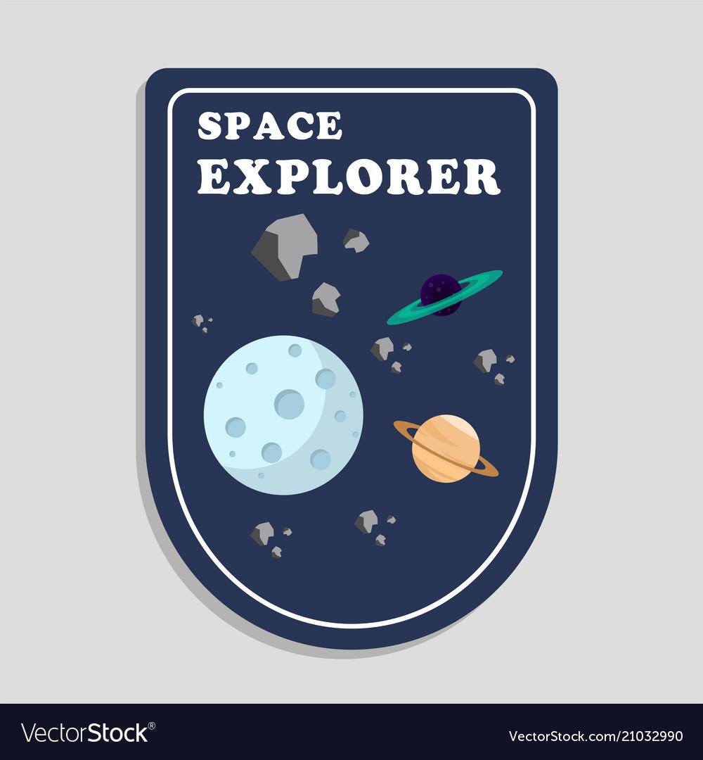 Space explorer moon saturn background image