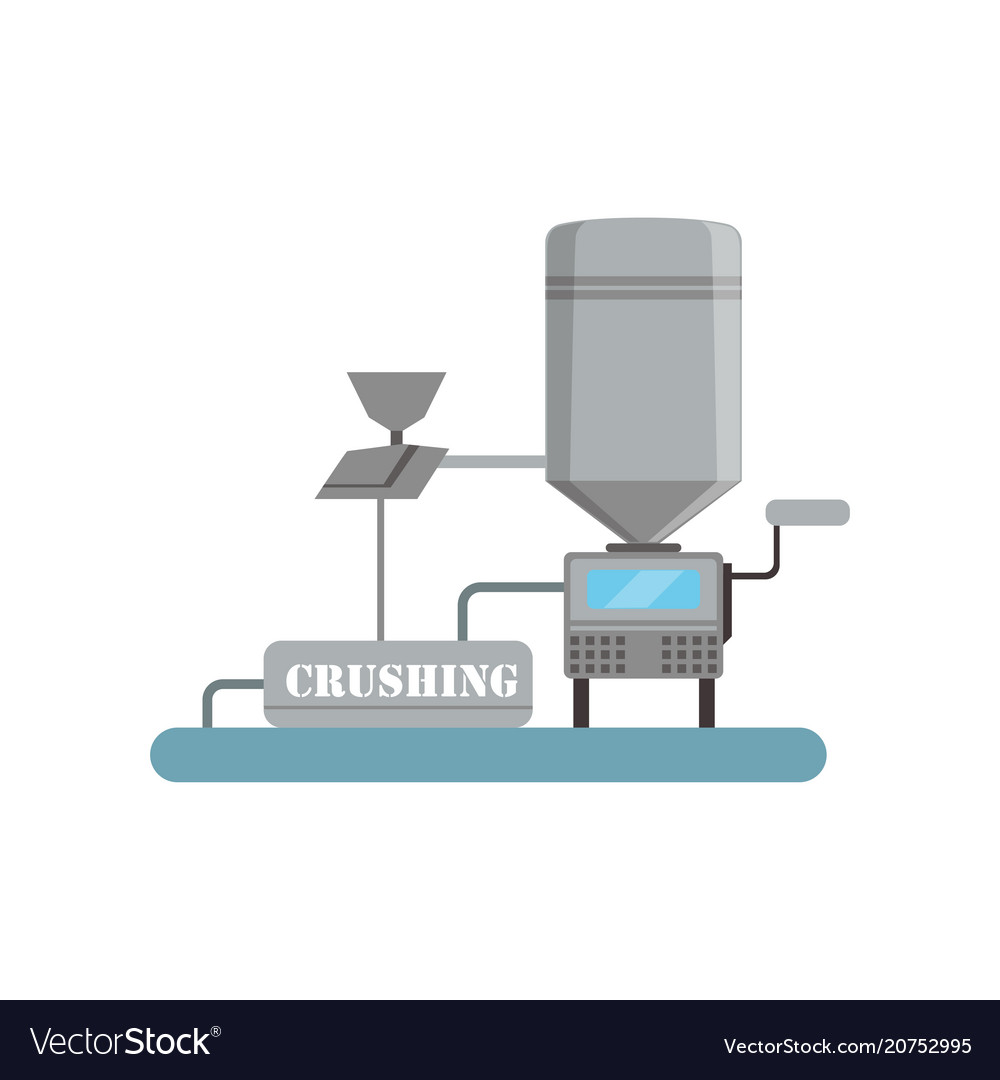 Crushing process beer brewing production