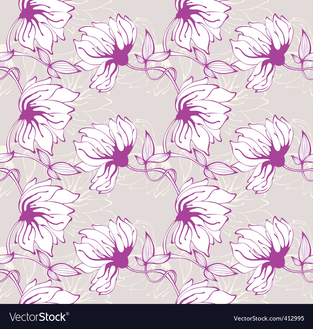 Flower wallpaper pattern
