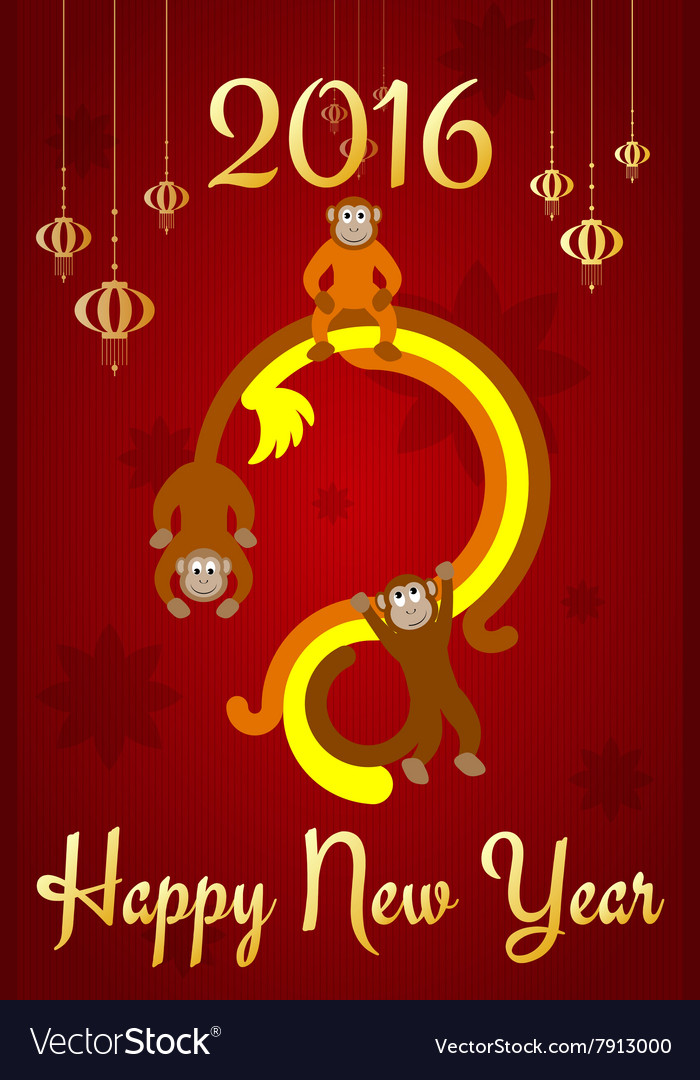 Chinese New Year postcard