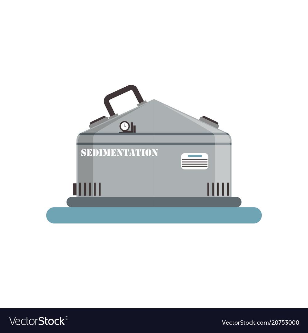 Sedimentation brewing production process