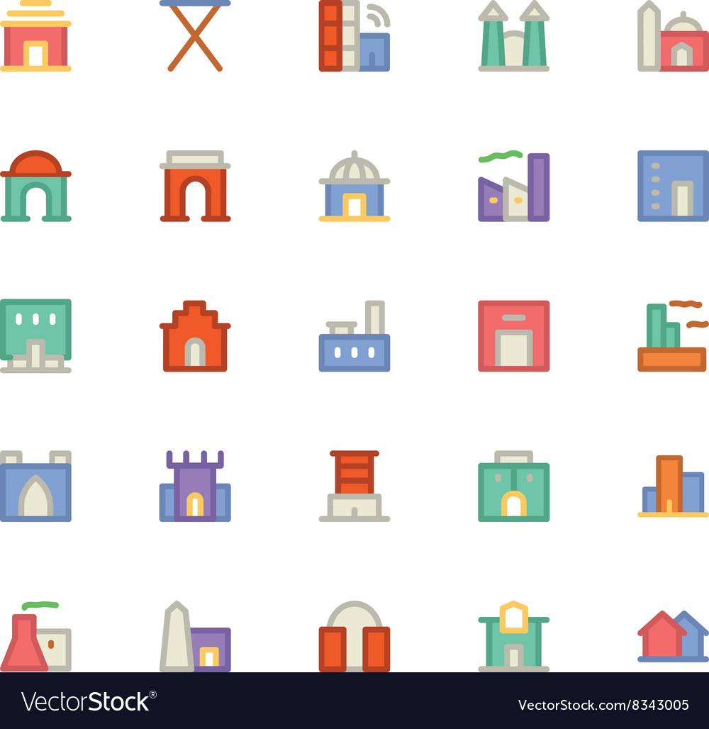 Building and Furniture Icons 4