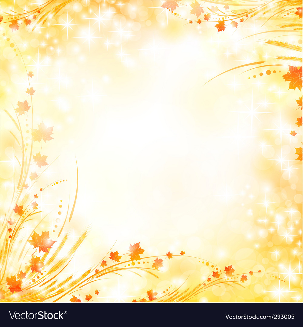 floral autumn background royalty free vector image