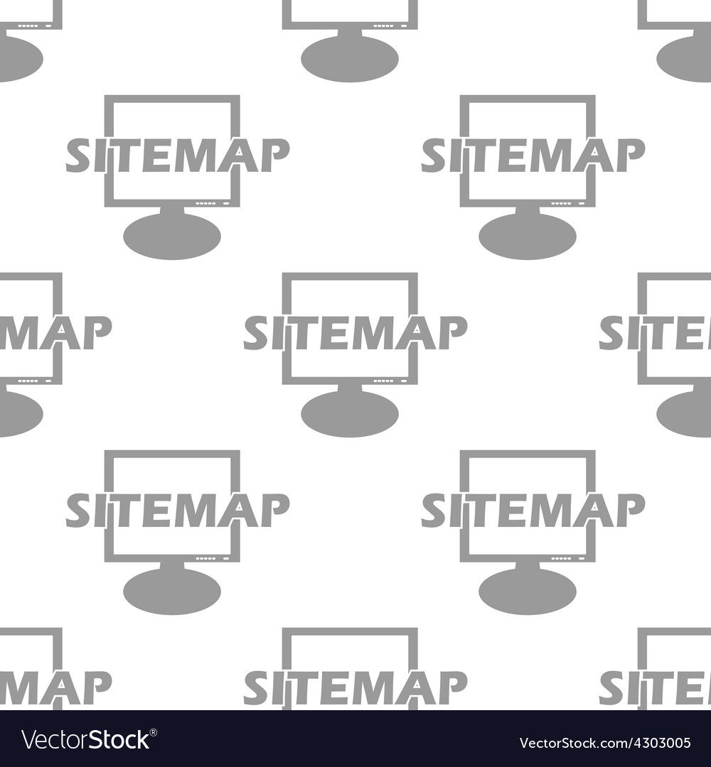 New Sitemap seamless pattern