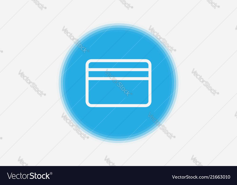 Credit Card Icon Sign Symbol Royalty Free Vector Image