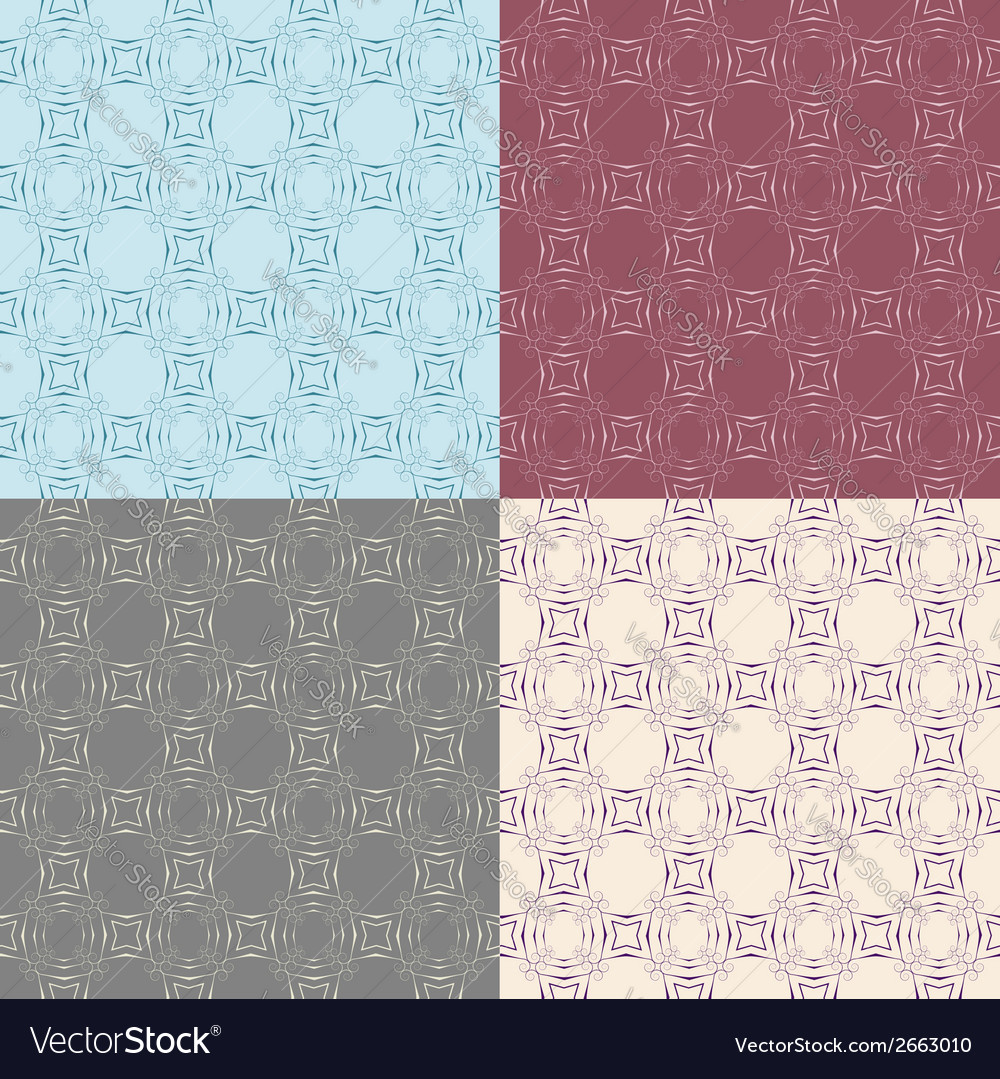 Seamless vintage decorative pattern