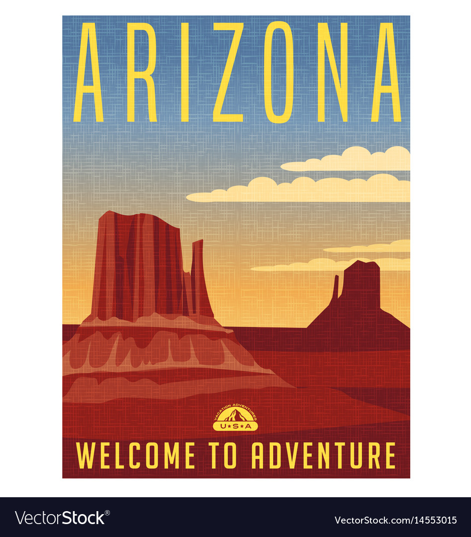 Arizona travel poster