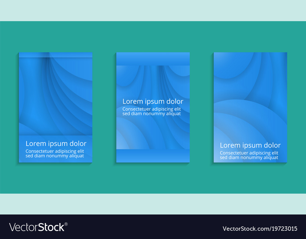 Geometric cover design abstract flyer design vector image