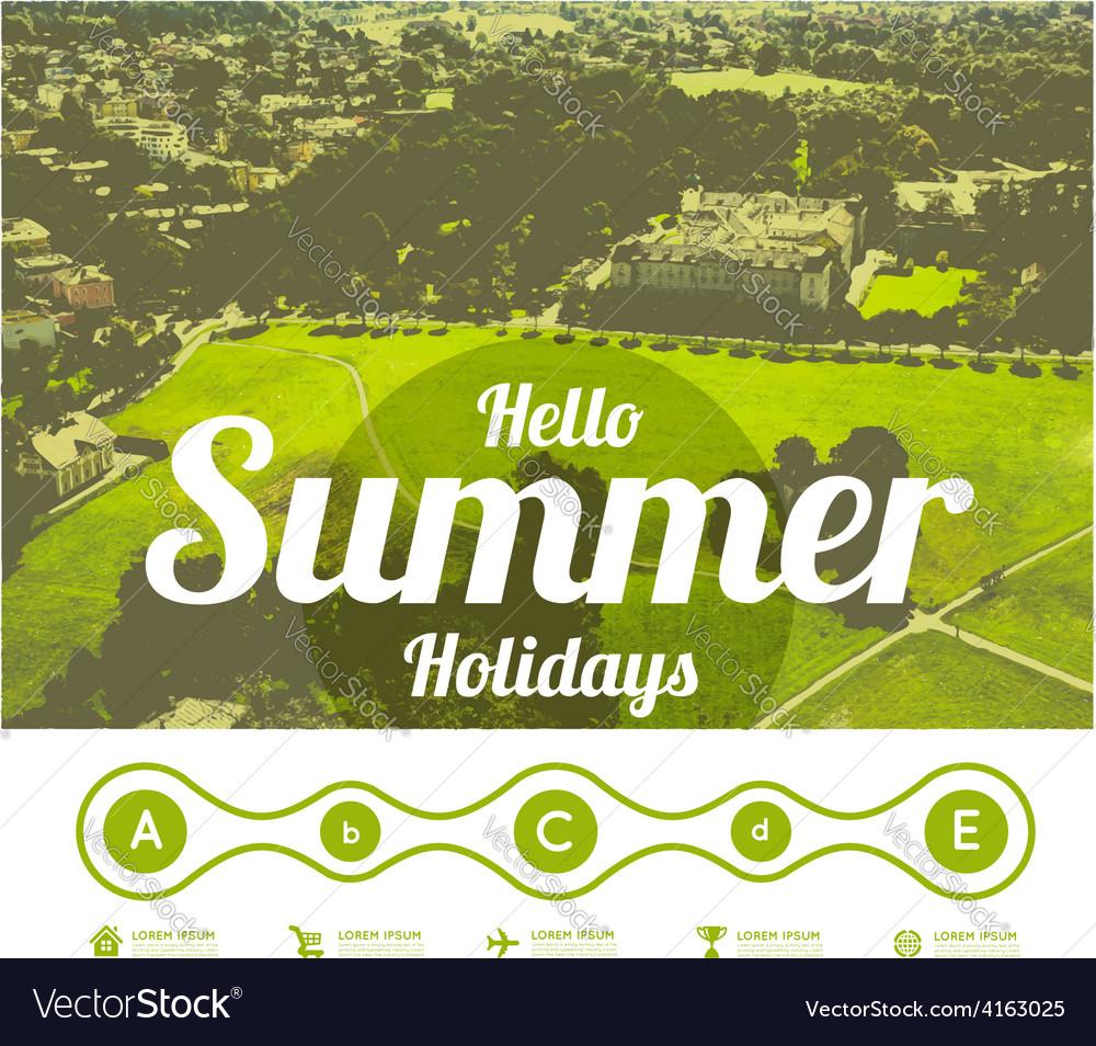 Hello summer holidays