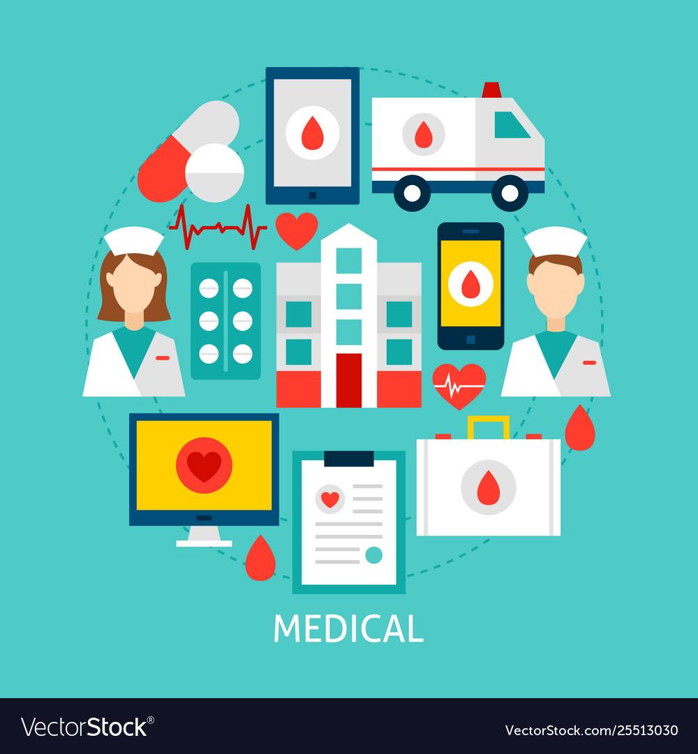 Medical flat concept