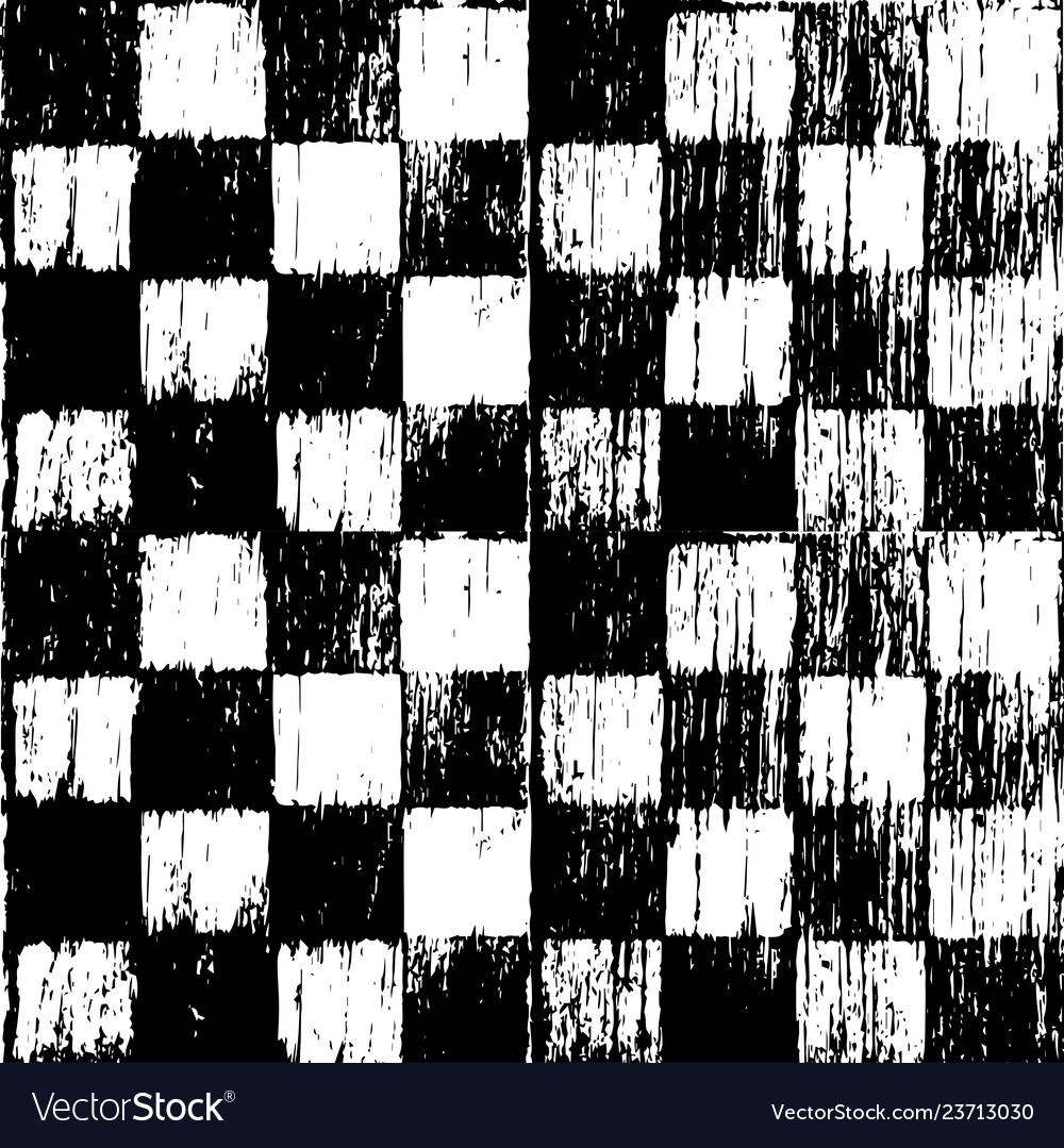 Seamless grunge chessboard background