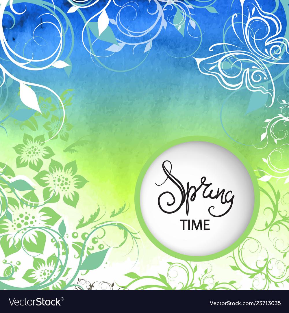 Spring background texture