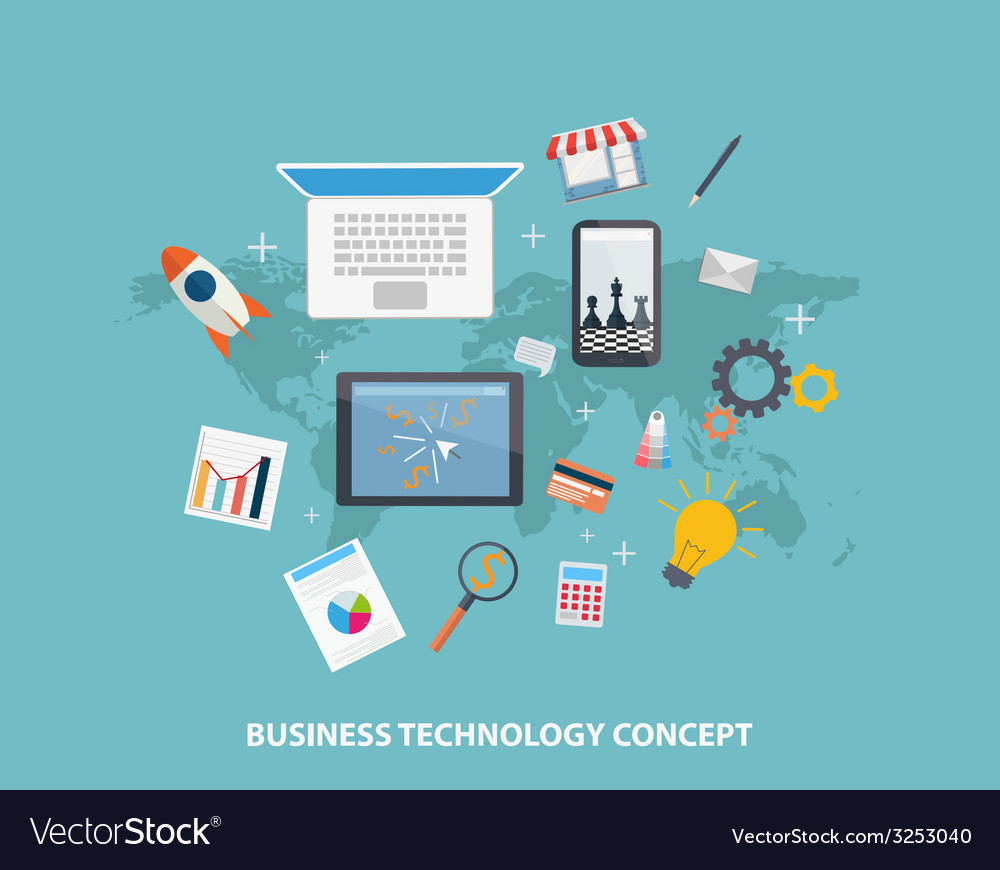 Business Strategy Concepts vector image