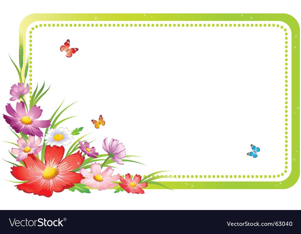 Flower Picture Frame on Flower Frame Vector 63040 By Igorij