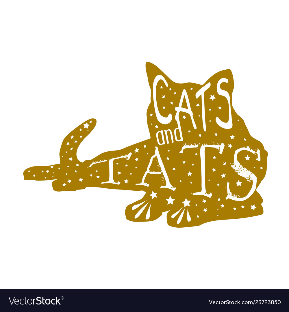 Cat quote and saying good for print
