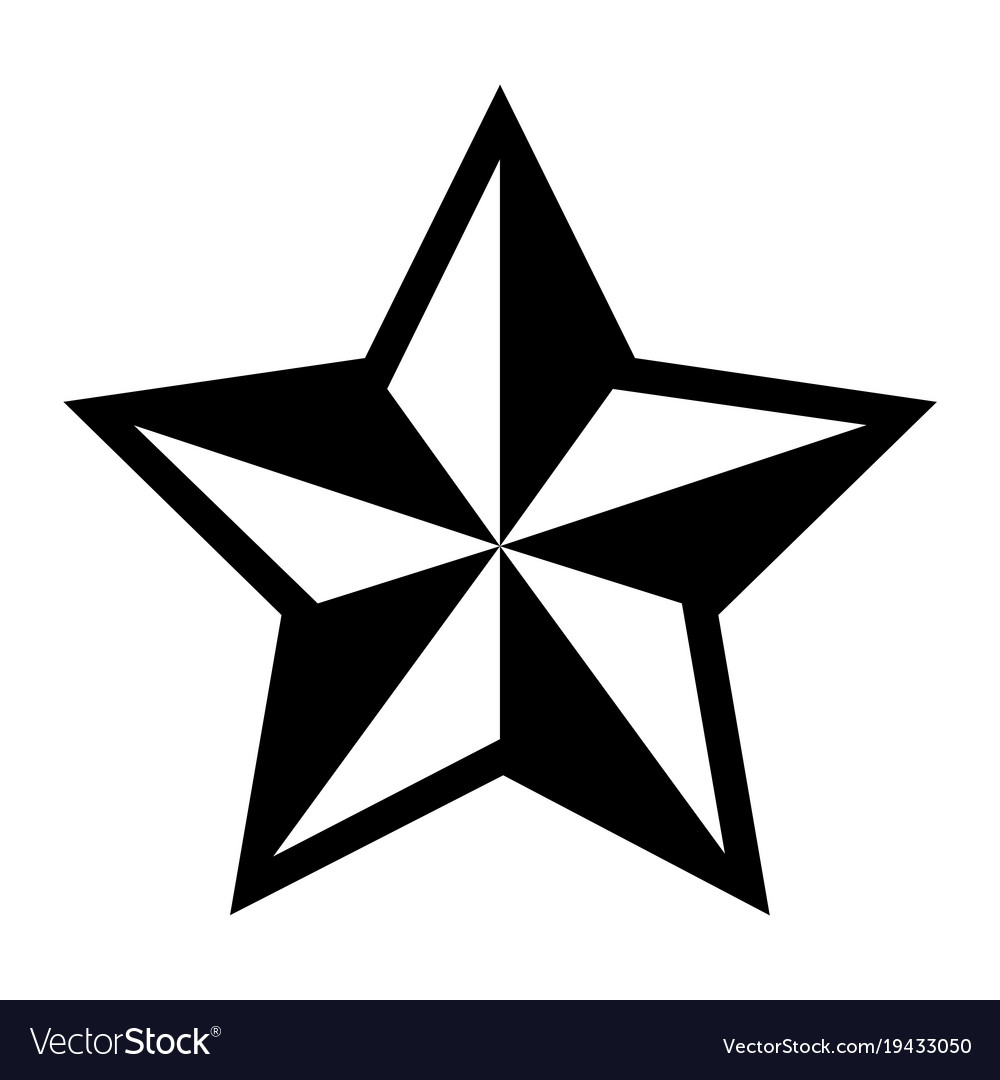 Star Shape Silhouette Royalty Free Vector Image Free for commercial use no attribution required high quality images. vectorstock
