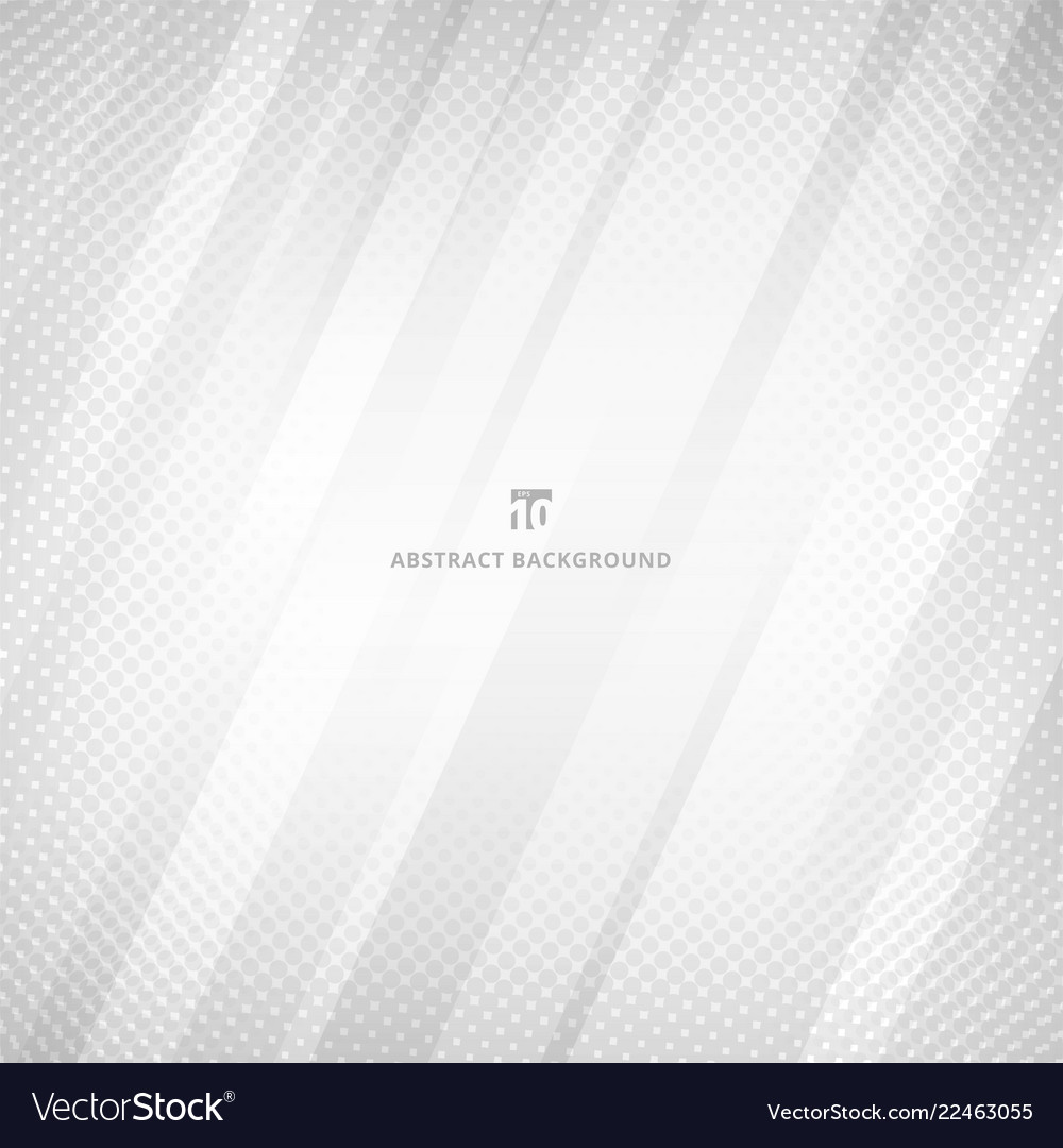 Abstract white and gray color geometric