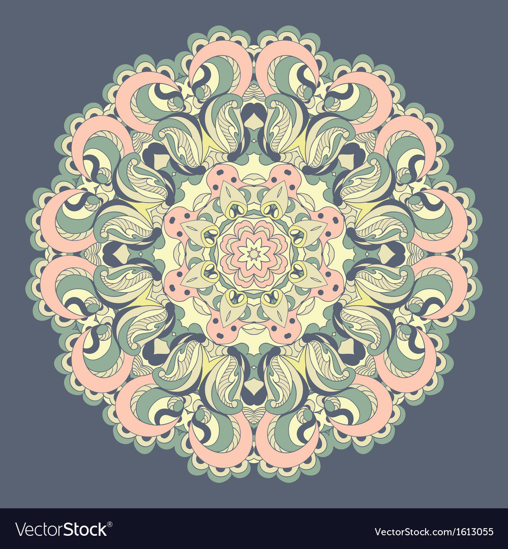 Beautiful lace pattern background
