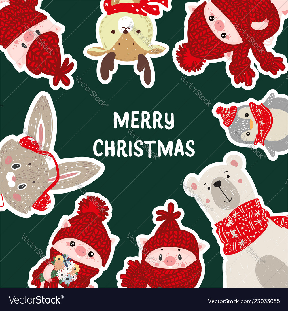 christmas posters template for royalty free vector image