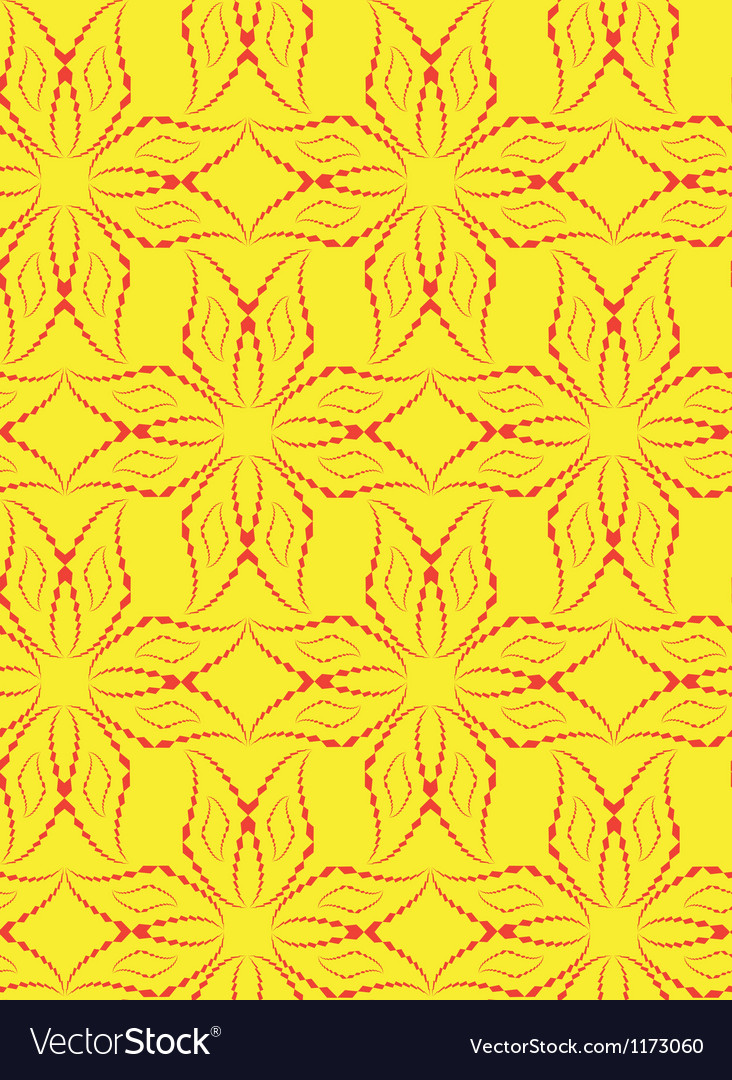 Abstract seamless pattern with cross-shape figures vector image
