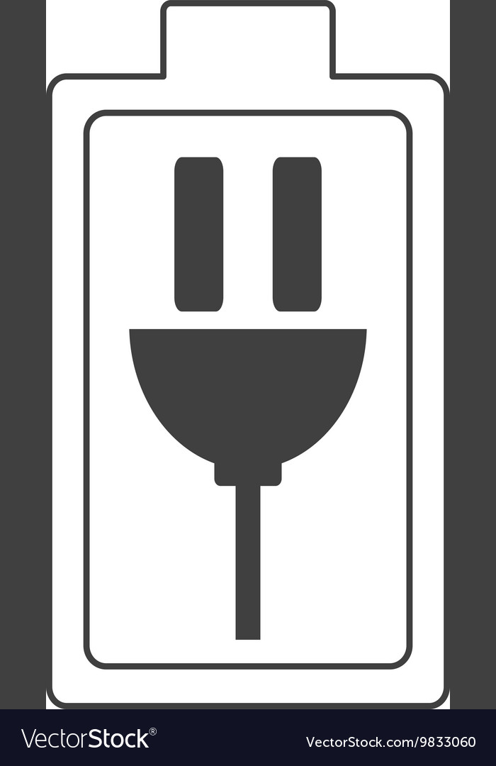 Charging Battery Symbol Icon Royalty Free Vector Image