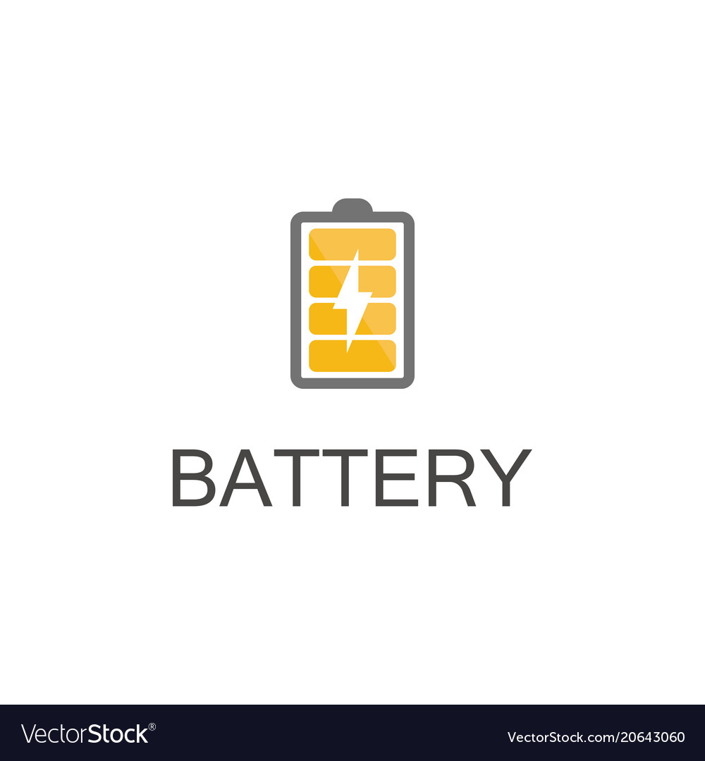 Energy battery logo