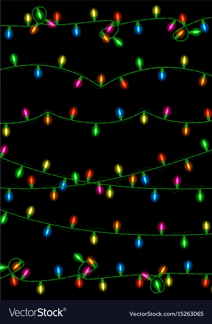 Christmas lights collection